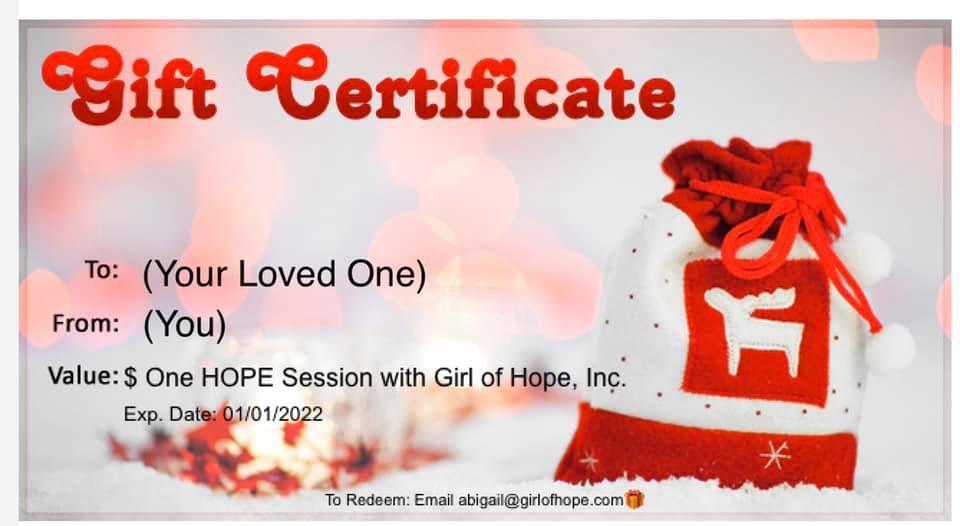 Gift Certificate - Present
